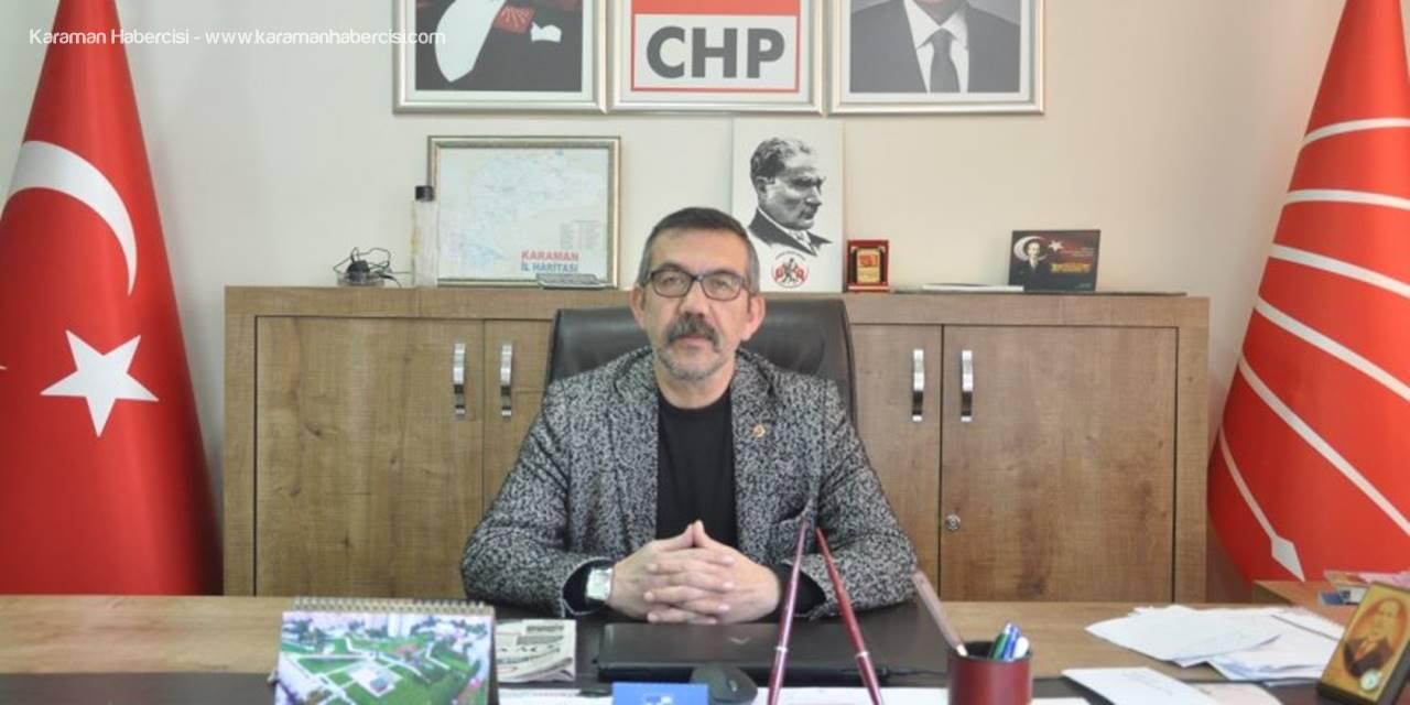 CHP Partisinden Karaman'a Teşekkür Mesajı