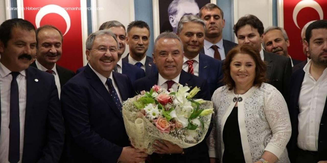 Antalya Büyükşehir Belediyesi'nde Muhittin Böcek Dönemi Başladı