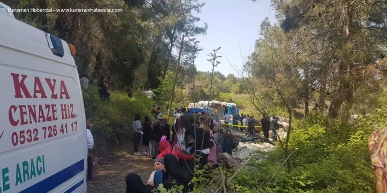 Manavgat'ta Yaşlı Kadının Talihsiz Ölümü