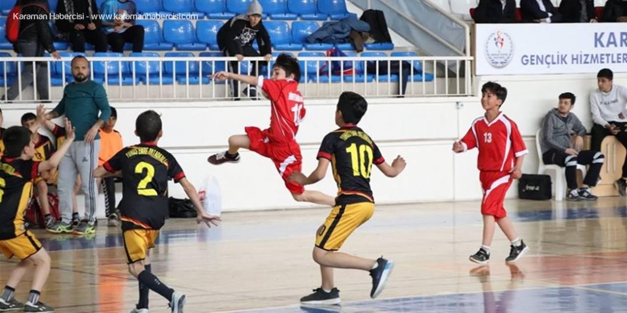 Karaman'da Küçükler Hentbol Müsabakaları Sona Erdi