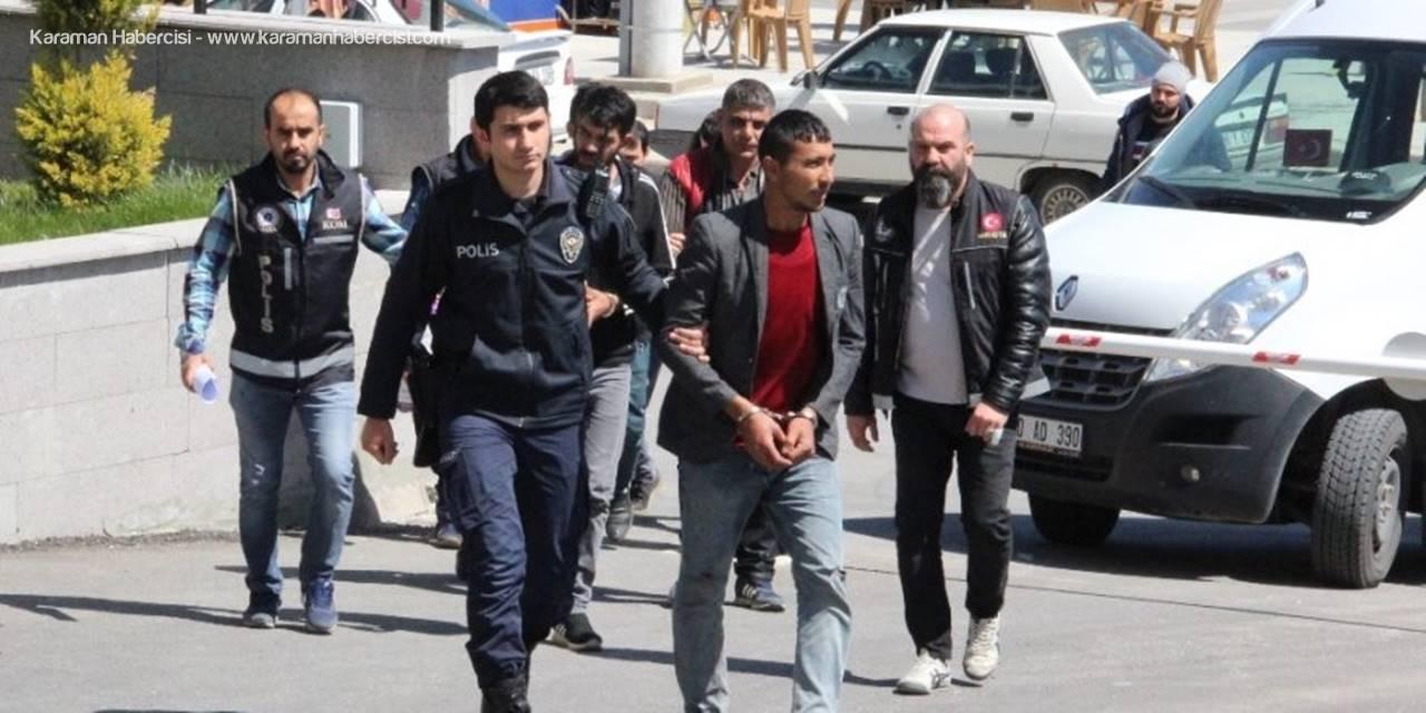 Karaman'da Bonzai Operasyonuna: 5 Tutuklama