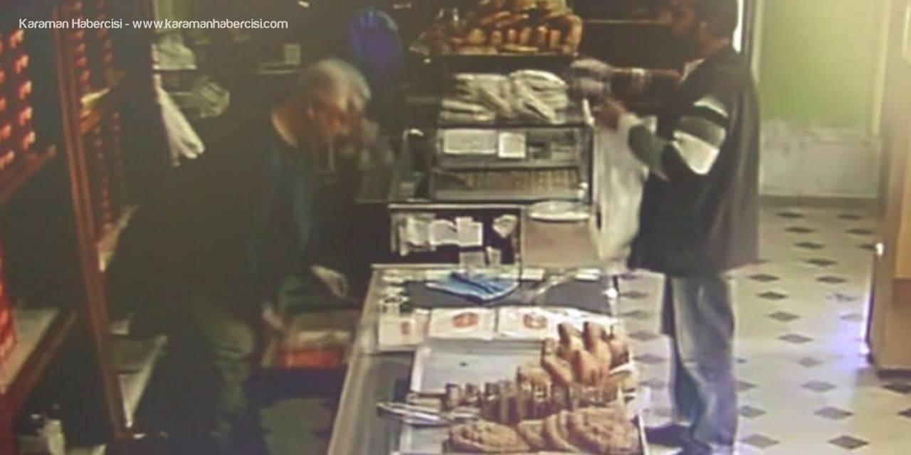 Antalya'da Fırının Sadaka Kutusunu Ekmeklerin Arasına Koyup Götürdü