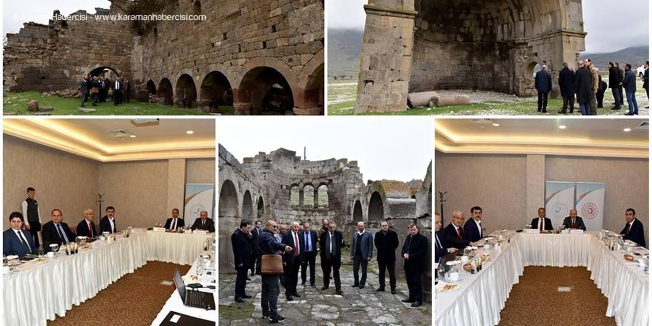 Mevlana Kalkınma Ajansı Yönetim Kurulu Karaman'da Toplandı