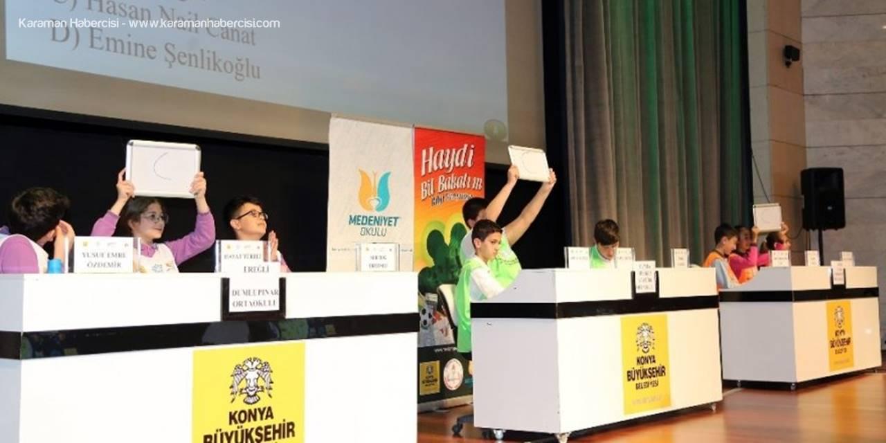 Konya'da Haydi Bil Bakalım Bilgi Yarışması'nda Ödüller Verildi
