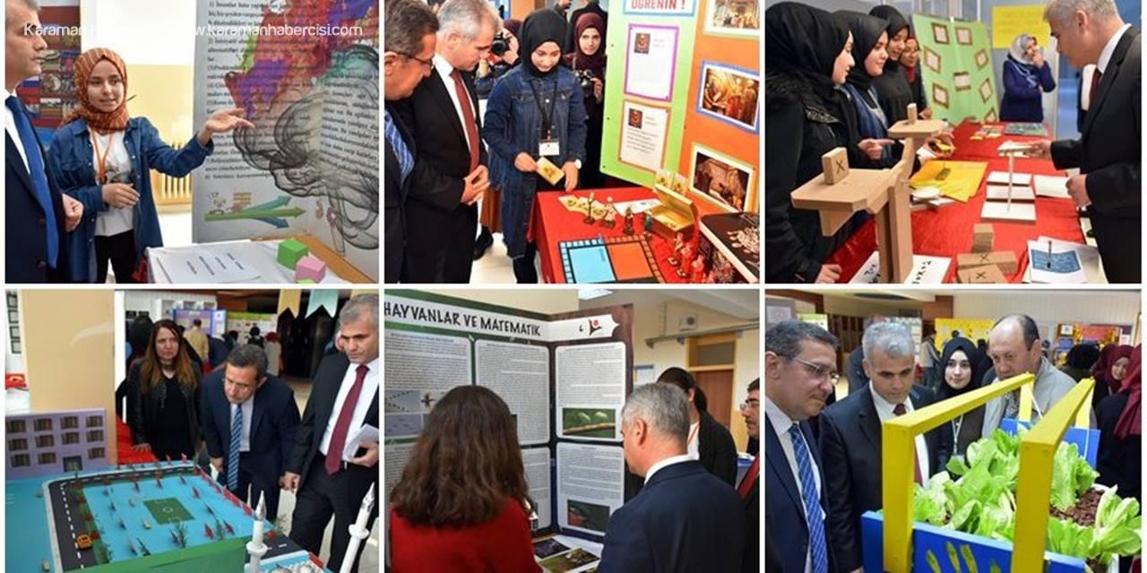 Karamanlı Öğrenciler TÜBİTAK Projelerini Sergiledi