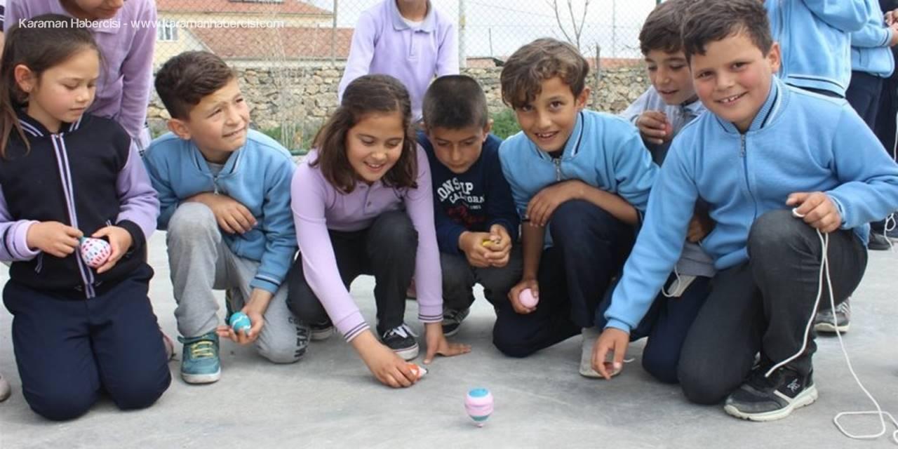 Teknolojiye Yenik Düşen Oyunlar Karaman'da Yeniden Hayat Buluyor