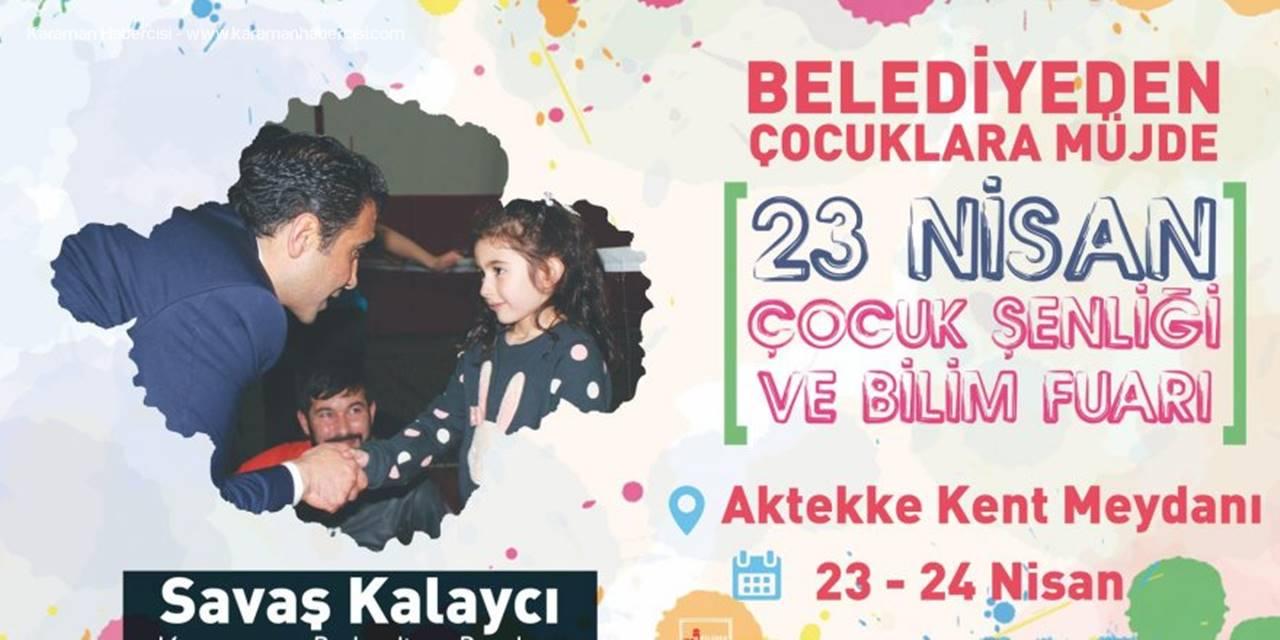 Karaman Belediye Başkanı Savaş Kalaycı'dan Çocuklara Müjde