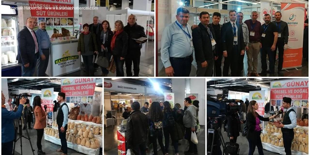 "Karaman ""İstanbul Peynir Festivali""ne Damga Vurdu"