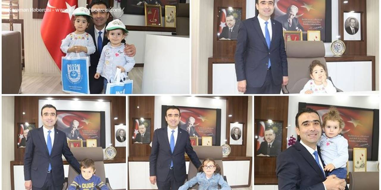 Karaman Belediye Başkanı Savaş Kalaycı'dan Miniklere Büyük Jest