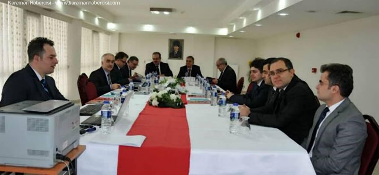 Konya Heyeti Toplantı ve Ziyareti Bir Arada Gerçekleştirdi