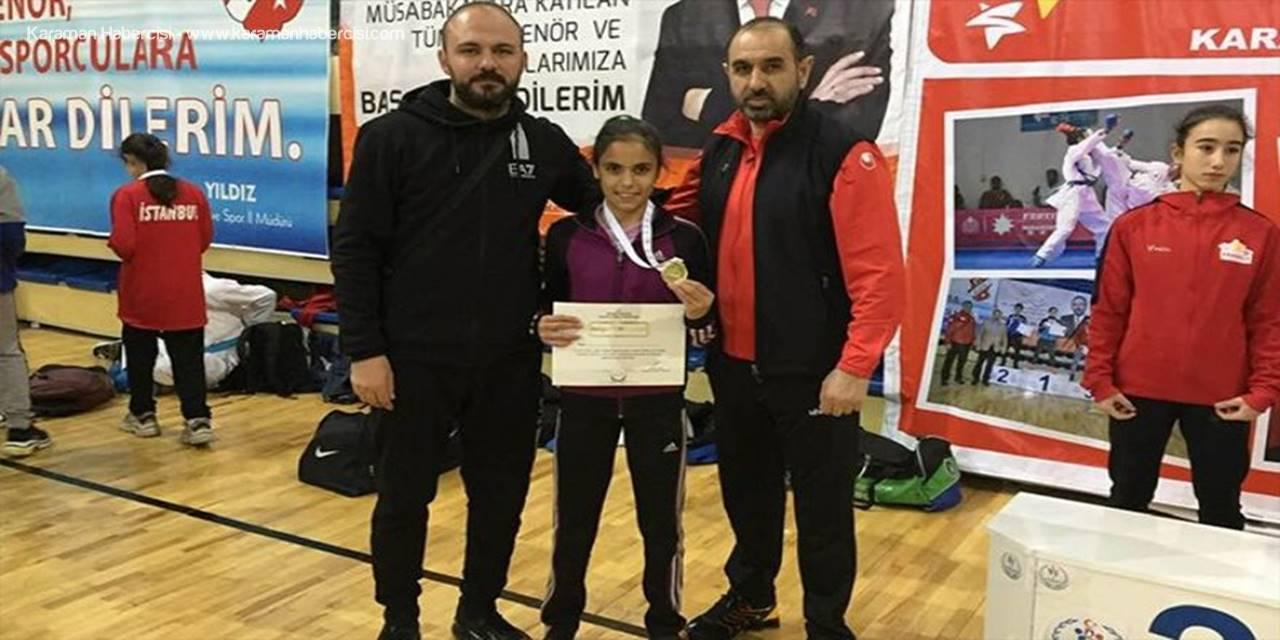 Karamanlı Sporcudan Türkiye Şampiyonluğu