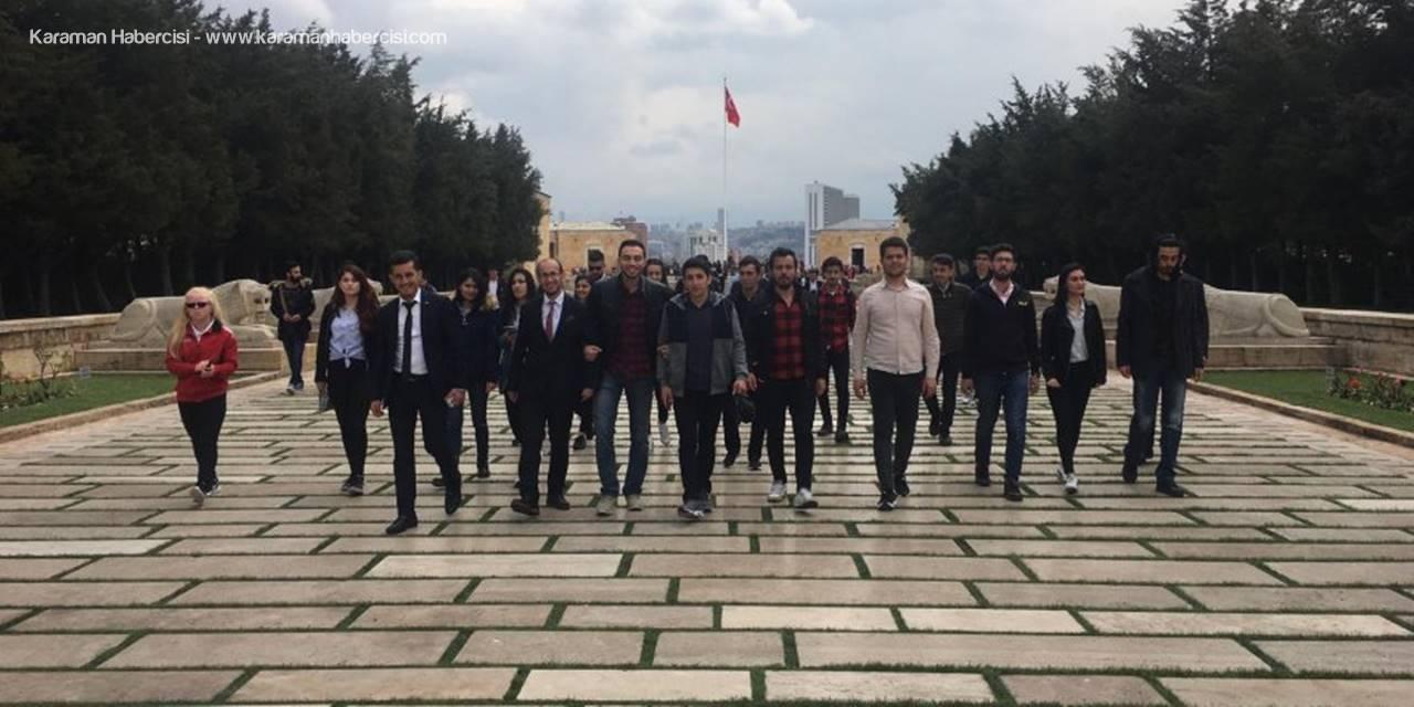 """KMÜ Öğrencilerinden """"Geleceğe Bir Adım"""""""
