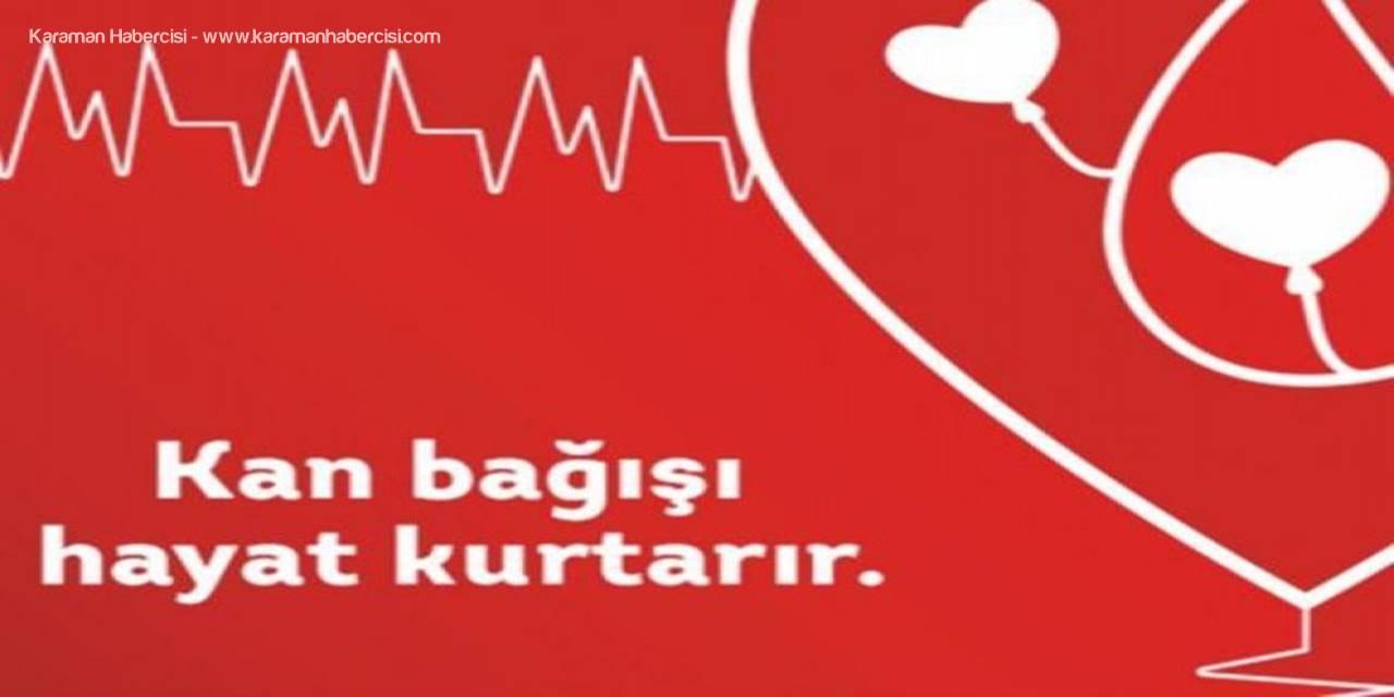 Karaman'da Kan Bağışı Kampanyası