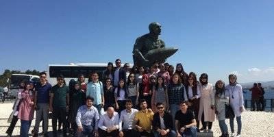 KMÜ'de 10.Geleneksel Çanakkale Kültür Gezisi