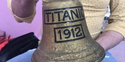 107 yıl Önce Batan Titanik'in Çanı Eskişehir'de