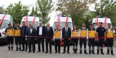 Karaman'a Gönderilen Ambulanslar Göreve Başladı