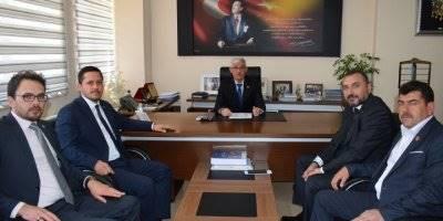 Karaman İl Genel Meclisi Adem Kapar'a Hayırlı Olsun Ziyareti