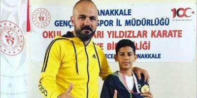 Çanakkale'de Karaman'ı Temsil Etti Türkiye Şampiyonu Oldu