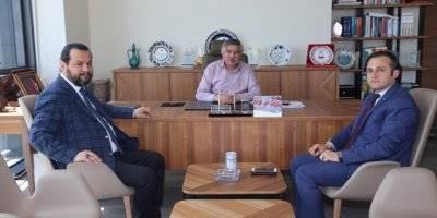 KMÜ Rektörü Mehmet Akgül'den Eğitim Bir-Sen'e Ziyaret