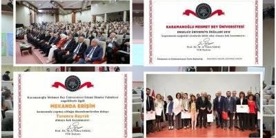 2019 Engelsiz Üniversite Ödül Töreni'nde KMÜ'ye 2 Bayrak