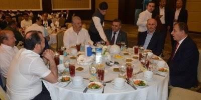 Karaman'da İş Adamları İftarda Buluştu