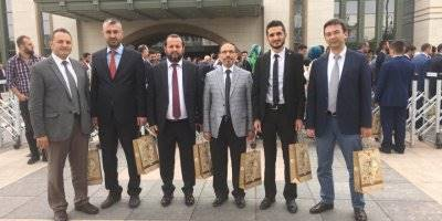KMÜ Rektörü Mehmet Akgül Prof. Dr. Fuat Sezgin Yılı Toplantısına Katıldı
