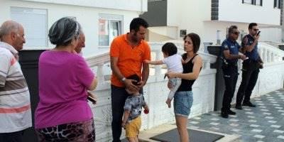 Antalya'da Öğretmen Anne 2 Çocuğunu Yangından Kurtardı