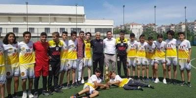 Karaman Amatör U-16 Liginde Şampiyon Bifa Başakspor