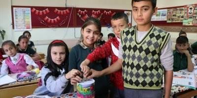 Niğdeli Minik Öğrenciler Ramazanda Yetimleri Ve Yoksul Aileleri Unutmadı