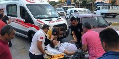 Karaman'daki Kazada Yaya Yaralandı