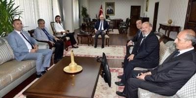 Türkiye Satranç Federasyonu Başkanı Gülkız Tulay Teşekkür Ziyaretleri