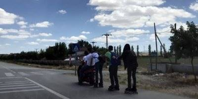 Karaman'da Tehlikeli Yolculuk Direksiyon Eğitmenlerine Takıldı