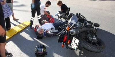 Antalya'da Yaşanan Kazada Kask Hayat kurtardı