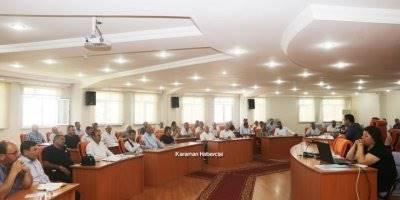 Karaman'da Muhtarlar Başkan Kalaycı İle Buluştu