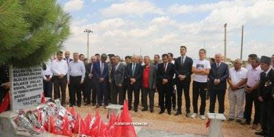 Karaman'da 15 Temmuz Dolaysıyla Şehitlikler Ziyaret Edildi