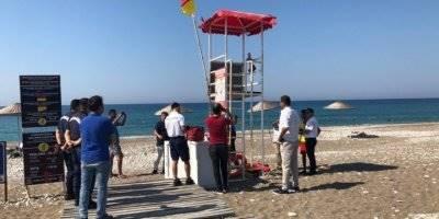 Antalya Kumluca'da Yüzme Alanları Denetlendi