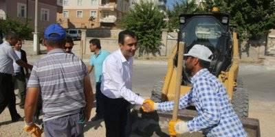 Karaman Belediyesi Yol Çalışmalarını Kış Gelmeden Bitirmek İstiyor