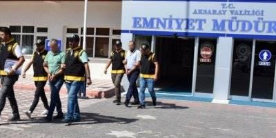 Aksaray'da Eski Hastane Binası Vurgununda Gözaltılar Var