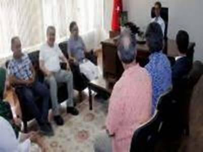 HOKAF, Vali Tapsız' a Hayırlı Olsun Ziyaretinde Bulundu