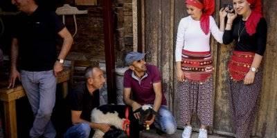 Altınköy'de Geleneksel Köy Düğünü Yapıldı