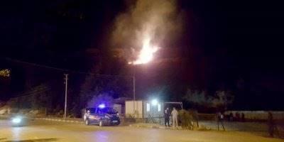 Xanthos Antik Kenti'nde Yangın Çıktı