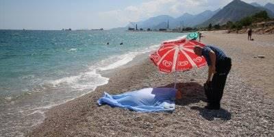 Antalya'da Denize Giren Bir Kişi Boğuldu
