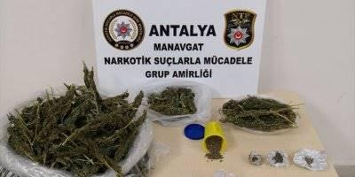 Antalya'da Polis-şüpheli Kovalamacası