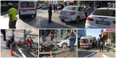 Karaman'da Bir Birene Giren Gençler Bıçakla Yaralandılar