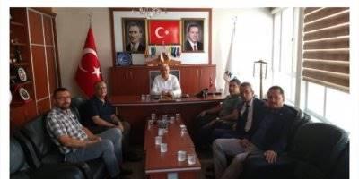 Ali Güler ve Turan Şener'den AK Parti'ye Ziyaret
