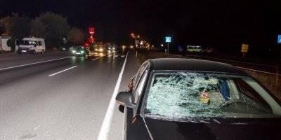Ankara'da Otomobilin Çarptığı Yaya Öldü
