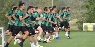 Konyaspor'da Yukatel Denizlispor Maçı Hazırlıkları Başladı