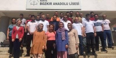 Bozkır İlçe Milli Eğitim Müdürü Tunç'dan Okullara Ziyaret