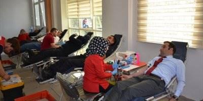 Karaman Adliyesi Çalışanları Kan Bağışında