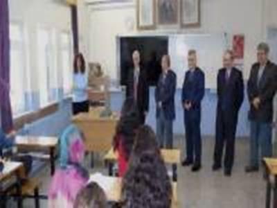 Mevlüt Kuntoğlu'ndan YGS'ye Girecek Öğrencilere Moral Ziyareti